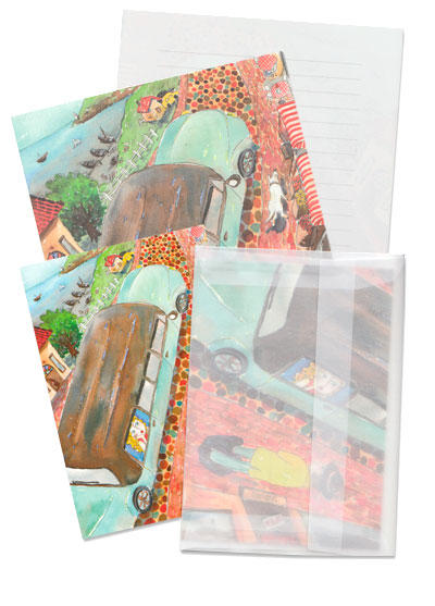 Seaside Drive Stationery