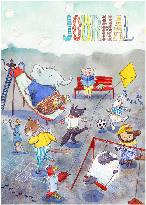 Animal Playground Journal