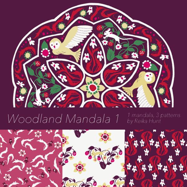 Woodland Mandala 1