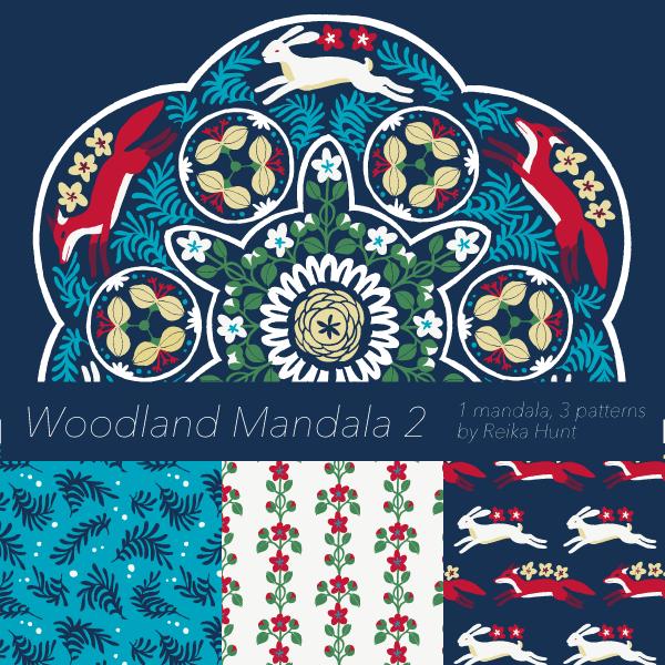 Woodland Mandala 2